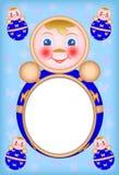 儿童框架照片 免版税库存图片