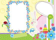 儿童框架照片s 库存图片