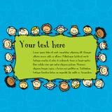 儿童框架 免版税库存图片