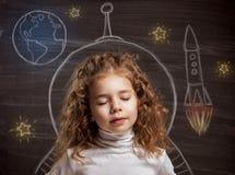 儿童梦想 免版税库存照片