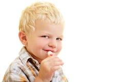 儿童棒棒糖 免版税库存图片