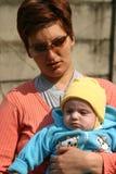 儿童母亲 免版税库存照片