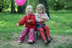 儿童比赛 免版税图库摄影