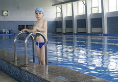 儿童池体育运动游泳水 库存图片