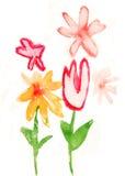 儿童油漆s 库存图片