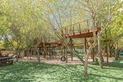 儿童游戏公园在Kraaifontein 免版税库存图片