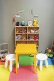 儿童游戏区域在家 图库摄影