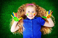 儿童爱好 免版税图库摄影
