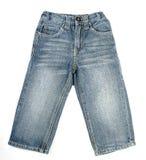 儿童牛仔裤配对s 免版税图库摄影