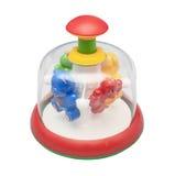 儿童玩具抽陀螺 免版税图库摄影