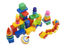 儿童玩具 库存图片