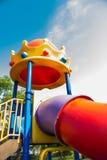 儿童现代公园操场 库存图片