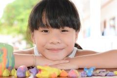 儿童甜微笑 免版税图库摄影