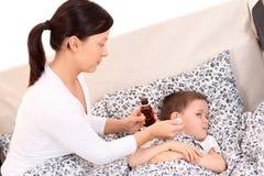 儿童病残 免版税库存照片