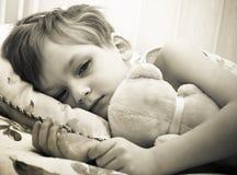儿童病残 图库摄影