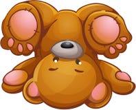 儿童的例证熊 免版税库存图片