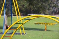 儿童的游乐场 免版税库存照片
