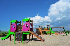儿童的游乐场 库存照片