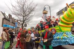 儿童的狂欢节在荷兰 免版税图库摄影