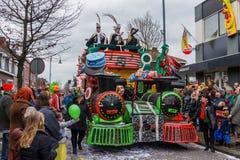 儿童的狂欢节在荷兰 库存照片