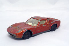 儿童的玩具汽车 免版税库存图片