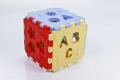 儿童的玩具箱 免版税图库摄影