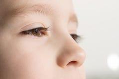 儿童的眼睛 免版税库存图片