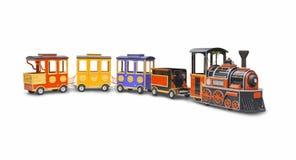 儿童的蒸汽机车 免版税图库摄影