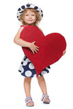儿童的重点-慈善 图库摄影