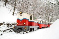 儿童的铁路-布达佩斯 免版税库存图片