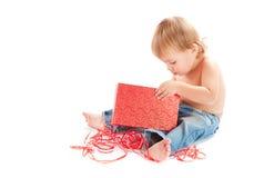 儿童礼品 库存照片