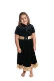 儿童礼服佩带 免版税图库摄影