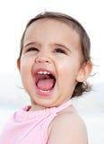 儿童笑 免版税库存图片