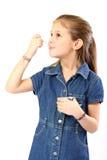 儿童纵向 免版税图库摄影