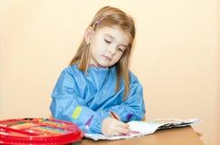 儿童绘画 库存照片