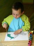 儿童绘画 免版税库存图片