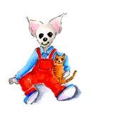 儿童老鼠 免版税库存照片