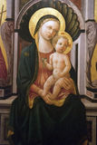 儿童耶稣madonna 免版税库存照片