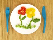 儿童膳食 免版税库存照片