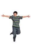 儿童舞蹈演员轻拍 免版税图库摄影