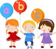 儿童英语乐趣 库存照片