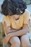 儿童表达式差贫穷 图库摄影