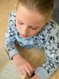 儿童读 免版税库存照片