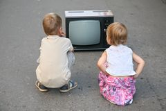 儿童路 免版税库存照片