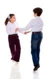 儿童跳舞 免版税库存图片