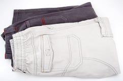 儿童长裤 免版税库存图片
