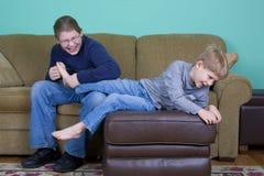 儿童青少年的痒感 免版税库存图片