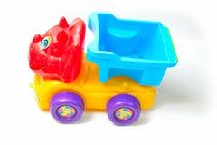 儿童颜色戏弄卡车 免版税库存照片