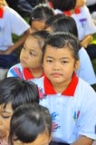 儿童马来西亚小学 库存图片