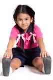 儿童锻炼 库存照片
